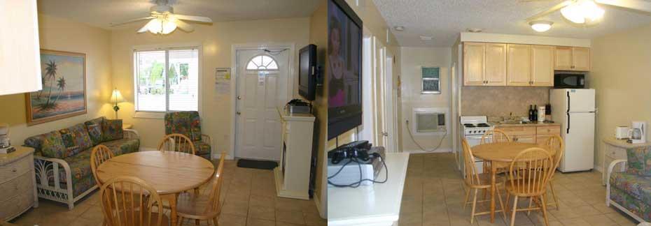 white Sands Beach Resort #6 and 8 2 bedroom, interior