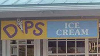 Dips Ice cream Logo