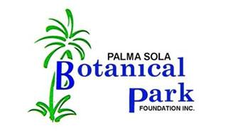 palma sola botanical gardens logo