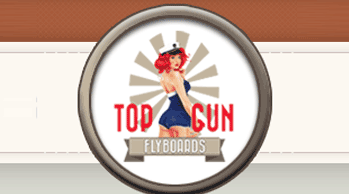 TOP GUN Flyboards logo