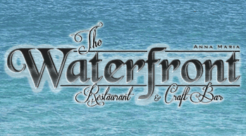 the waterfront restaurant logo